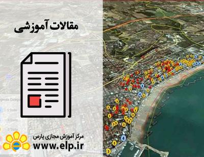 مقاله کاربرد سیستم اطلاعات جغرافیایی(GIS) در مدیریت و برنامه ریزی شهری