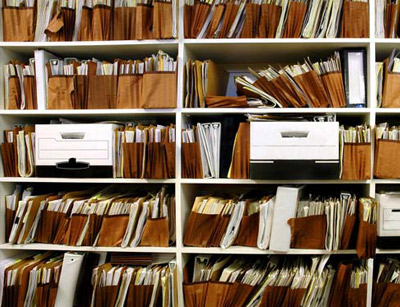 آشنایی با مدیریت اسناد ، مدارک و فن بایگانی