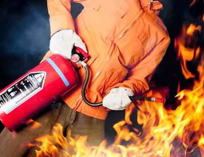 آموزش اصول ایمنی آتش نشانی