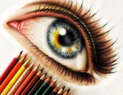 آشنايي با نقاشی مداد رنگي