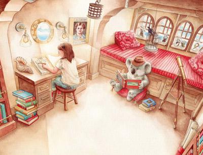 تصویر سازی کتاب کودک چیست