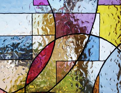 دوره آموزش نقاشی شیشه های تزیینی