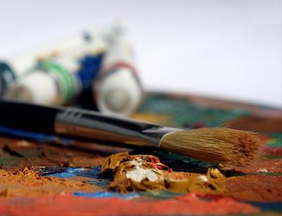 تکنیک های نقاشی روی بوم