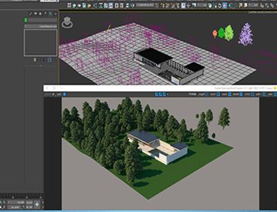 3DMAX در معماری