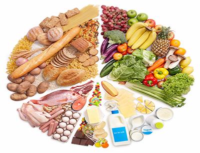 تاثیر انواع رژیم غذایی