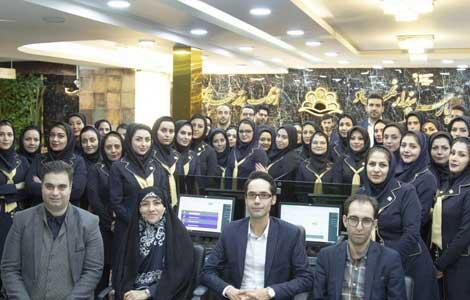 بازدید نماینده مردم اصفهان در مجلس شورای اسلامی از  آموزش مجازی پارس