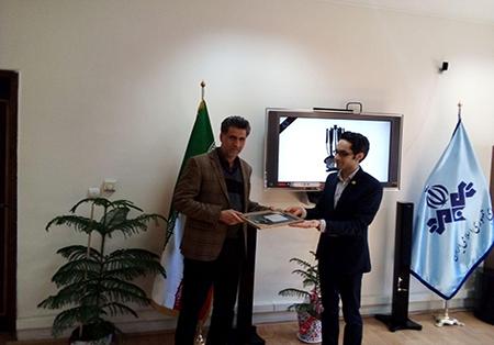 دیدار هولدینگ پارس پندار نهاد با مدیرکل صدا و سیمای مرکز اصفهان