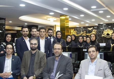 حضور دکتر طغیانی نماینده مردم اصفهان در مجلس شورای اسلامی در مرکز آموزش مجازی پارس