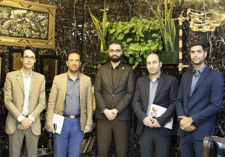 بازدید قائم مقام دانشگاه علمی کاربردی دادگستری اصفهان