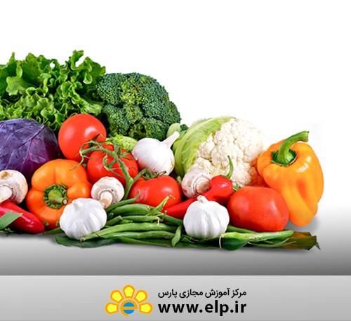 کشت سبزیجات ارگانیک و کشت با مواد دور ریختنی