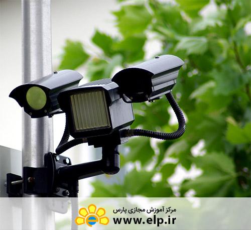 دوربین های مداربسته در برق الکترونیک