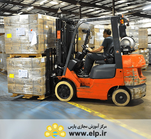 Maintenance and transport of goods in stock