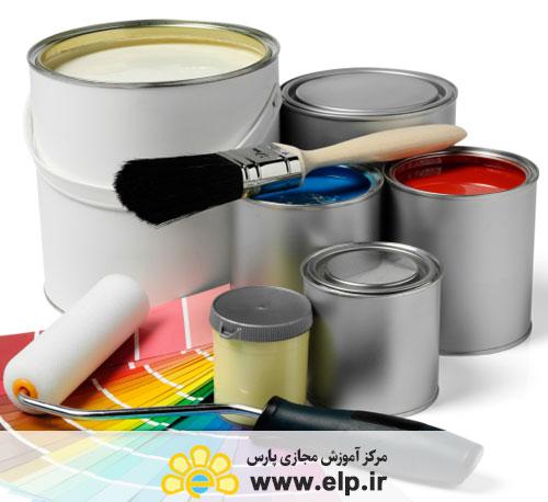 بازرسی رنگ های صنعتی