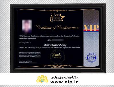 TNRS American  vip certification