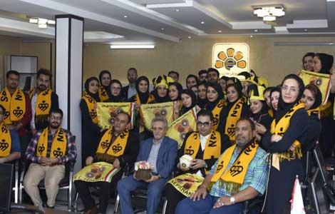 بازدید مدیر عامل باشگاه فرهنگی ورزشی مبارکه اصفهان جناب آقای مسعود تابش