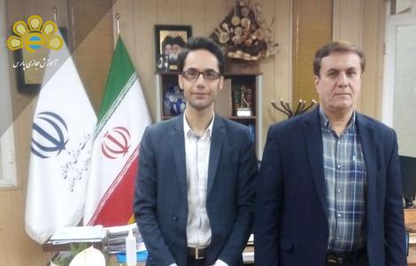 دیدار با مدیرکل ورزش جوانان استان اصفهان